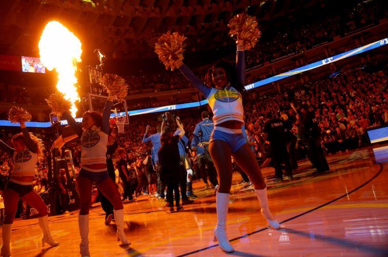 GOLDEN STATE WARRIORS nba basketball sexy babe cheerleader wallpaper