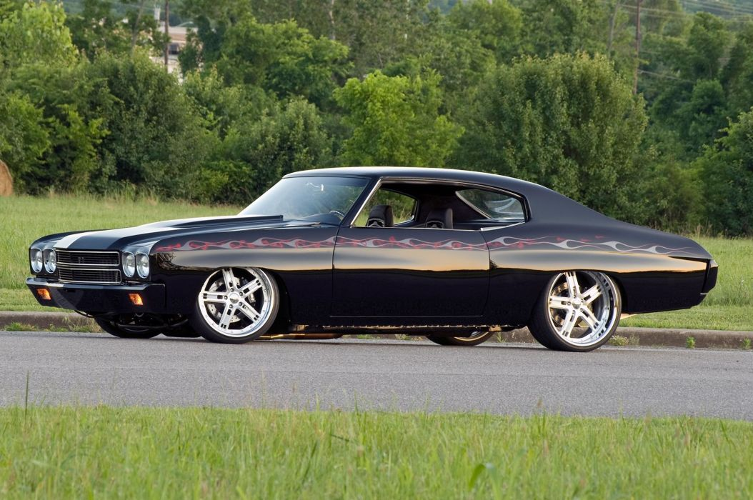 1970 Pro Touring chevy Chevelle cars modified wallpaper