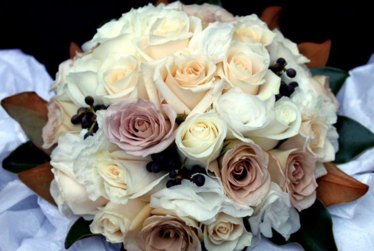 roses bouquet decoration beautiful wallpaper