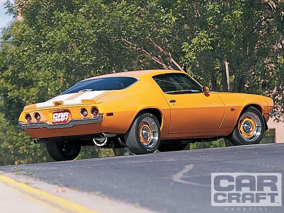 1970 Chevy Camaro cars modified wallpaper