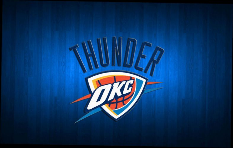 OKLAHOMA CITY THUNDER nba basketball poster wallpaper