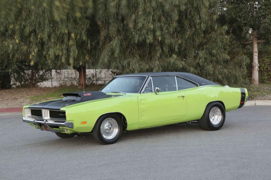 1969 Dodge Charger RT Super Street Drag Muscle USA -12 wallpaper