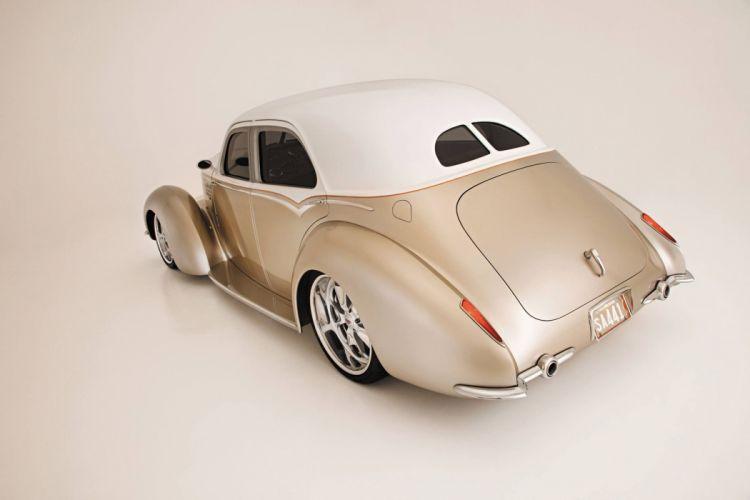 1941 Hupmobile Skylark Sedan Hot Rod Hotrod Street Rod Rodder USA -02 wallpaper