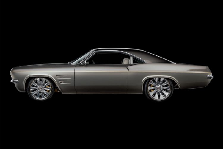 1965 Chevrolet Chevy Impala SS Coupe Hardtop Super Street Pro Touring Cruiser Low USA -05 wallpaper