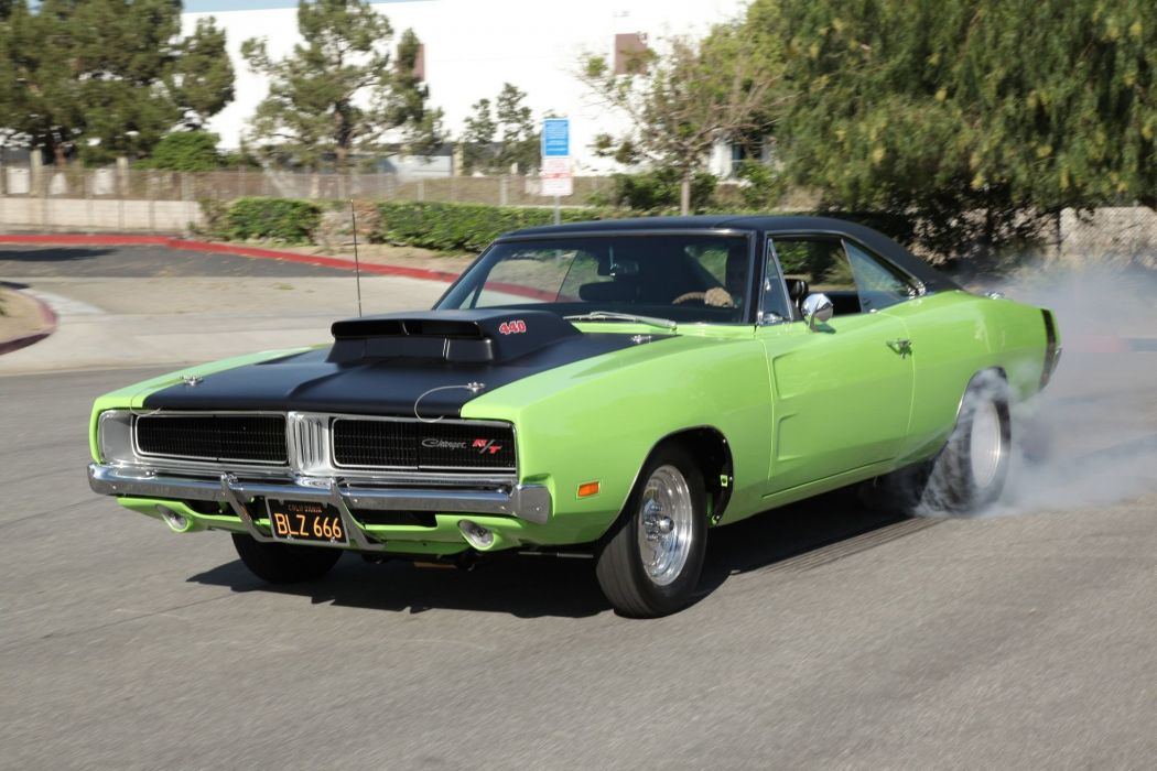 1969 Dodge Charger RT Super Street Drag Muscle USA -06 wallpaper