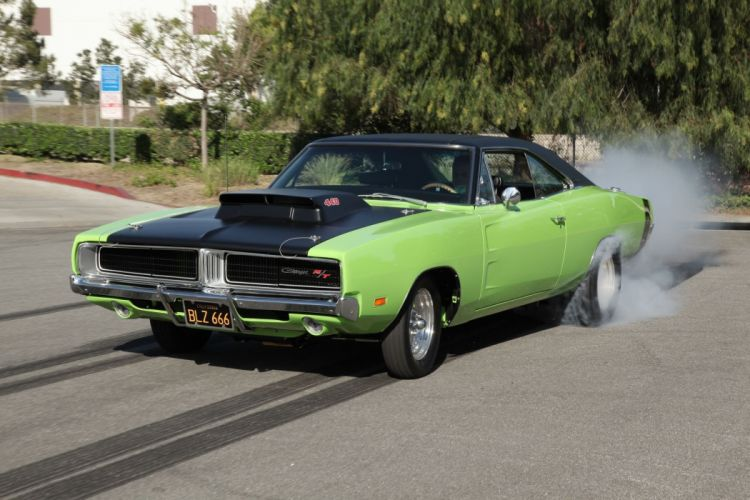 1969 Dodge Charger RT Super Street Drag Muscle USA -07 wallpaper