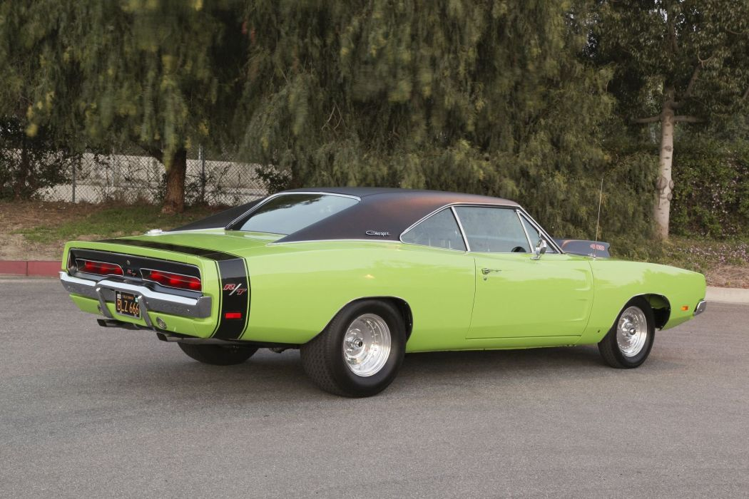 1969 Dodge Charger RT Super Street Drag Muscle USA -09 wallpaper