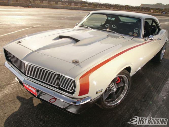 1968 chevy camaro cars wallpaper