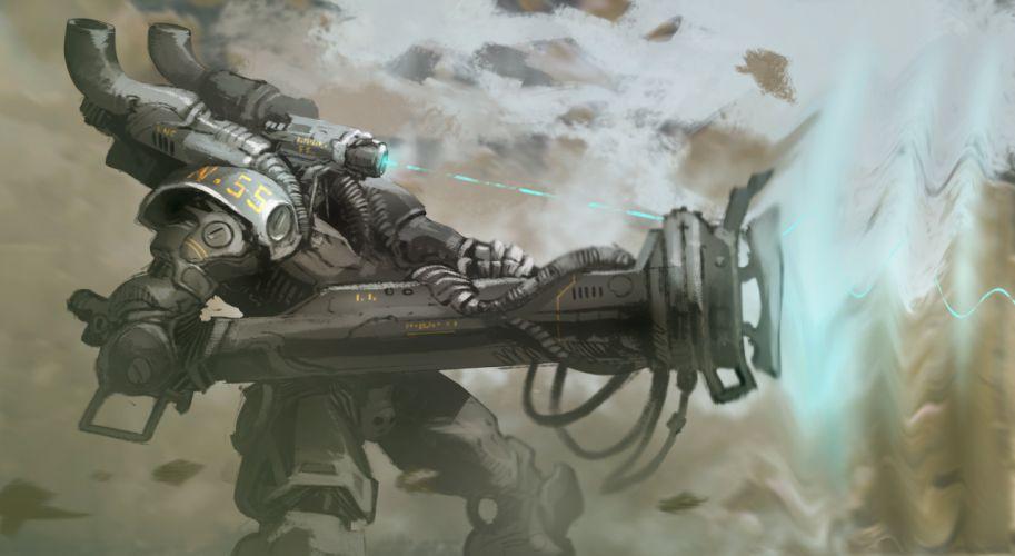 SCI-FI futuristic science fiction art artistic original space wallpaper