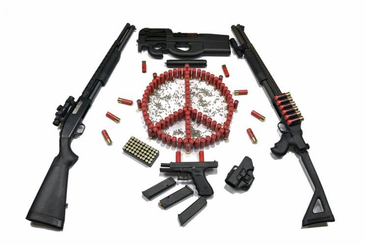 gun weapon guns weapons rifle military assault police wallpaper