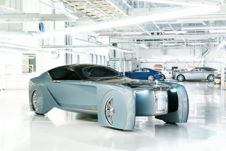 Rolls Royce Vision Next 100 concept cars 2016 wallpaper
