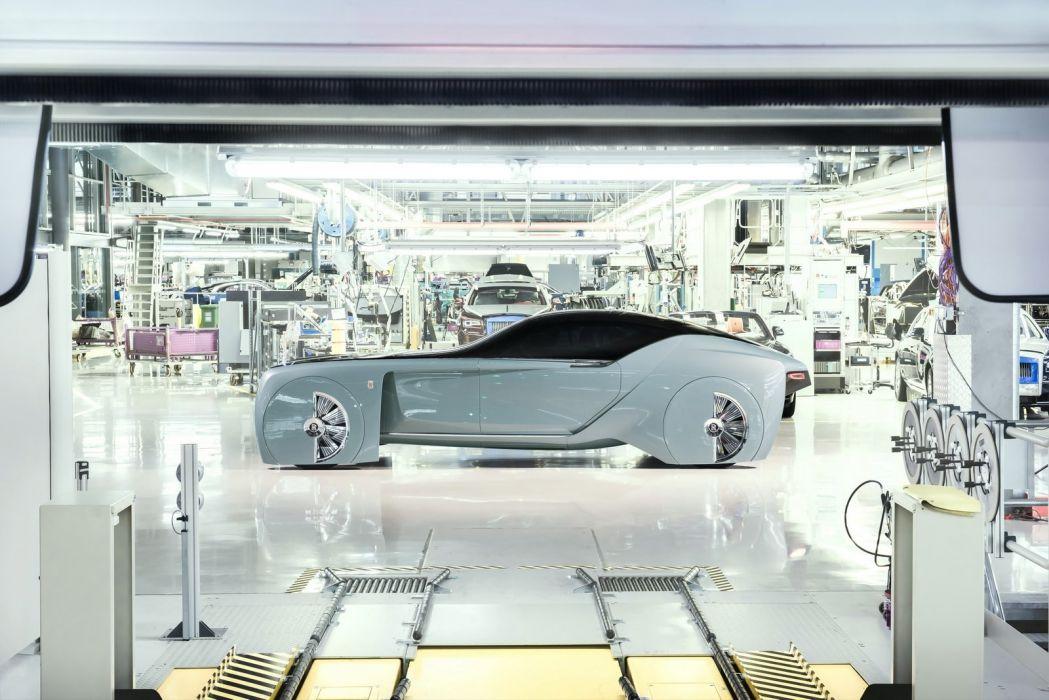 Rolls Royce Vision Next 100 concept cars 2016 wallpaper