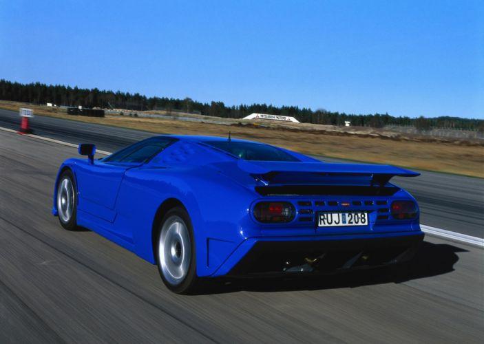 1998 Bugatti EB110 S-S Dauer supercar classic wallpaper