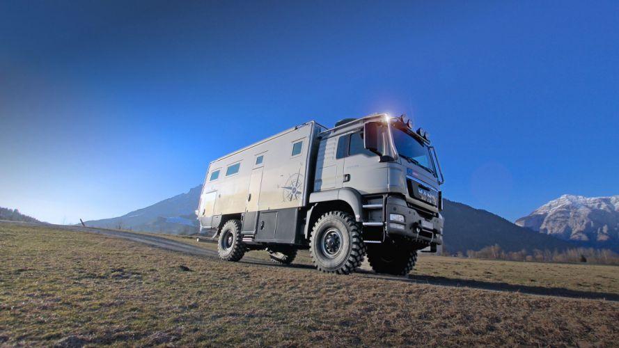 2015 Action Mobil Atacama 6300 motorhome camper 4x4 offroad semi tractor wallpaper