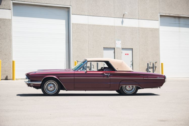 1966 Ford Thunderbird Convertible 76A luxury classic wallpaper