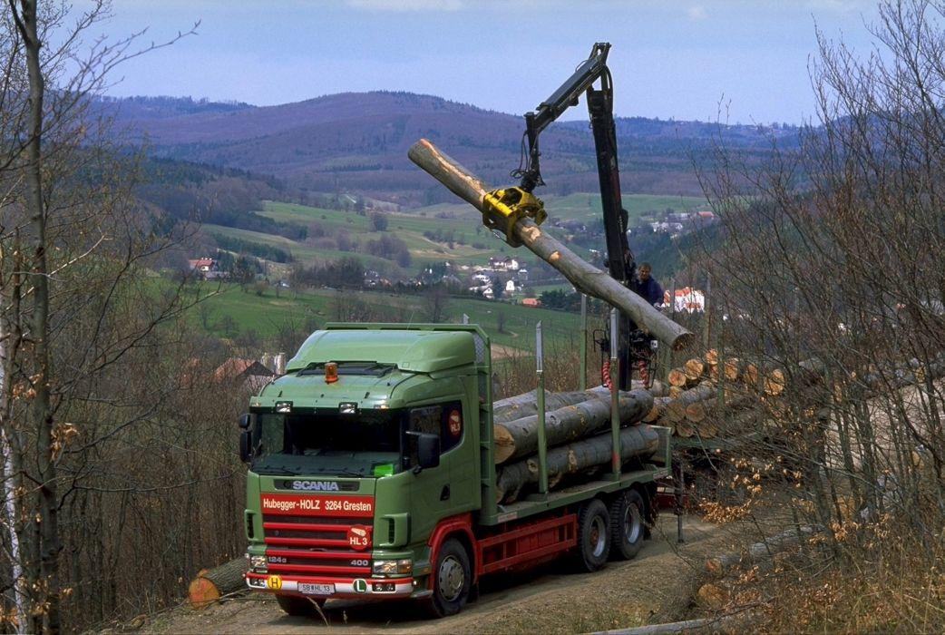 2004 Scania R124GB 400 6A wallpaper
