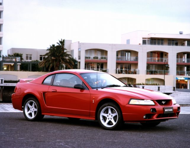 2001 Ford Mustang Cobra Coupe AU-spec muscle wallpaper
