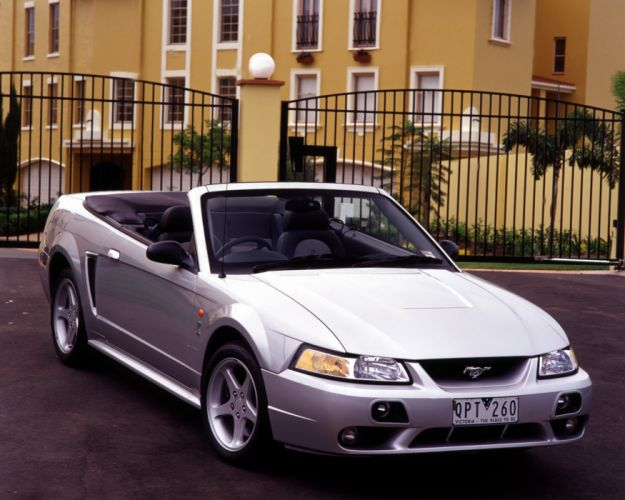 2001 Ford Mustang Cobra Convertible AU-spec muscle wallpaper