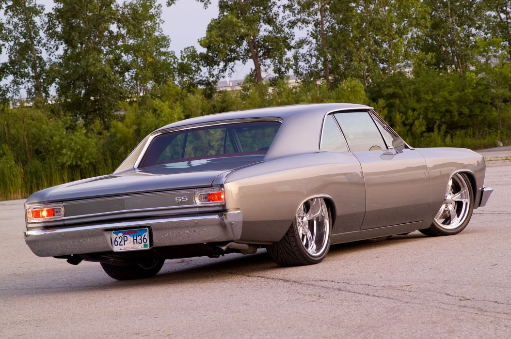 1966 Pro Touring chevy Chevelle cars wallpaper