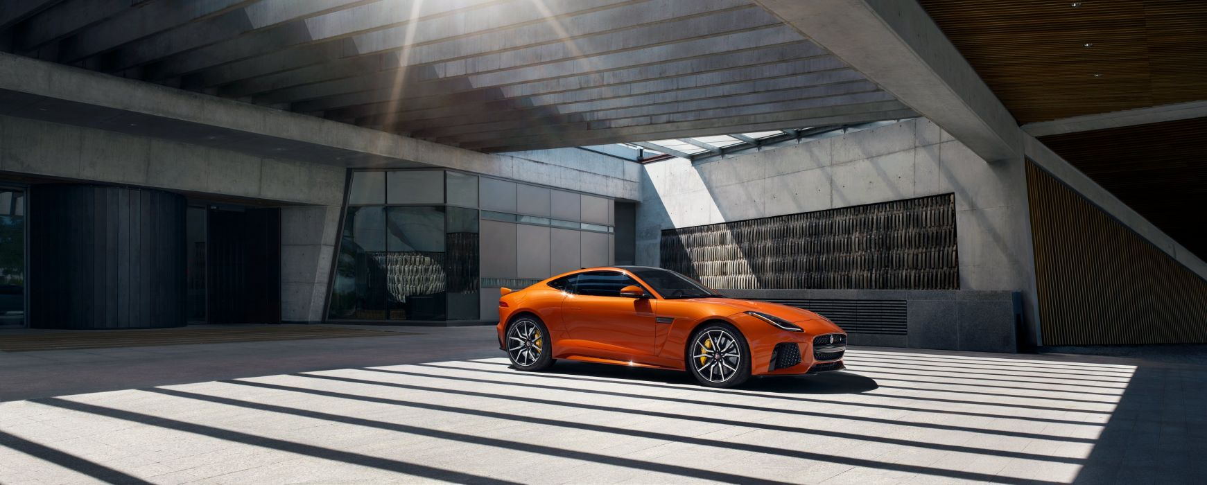 2016 Jaguar F-Type SVR Coupe US-spec wallpaper
