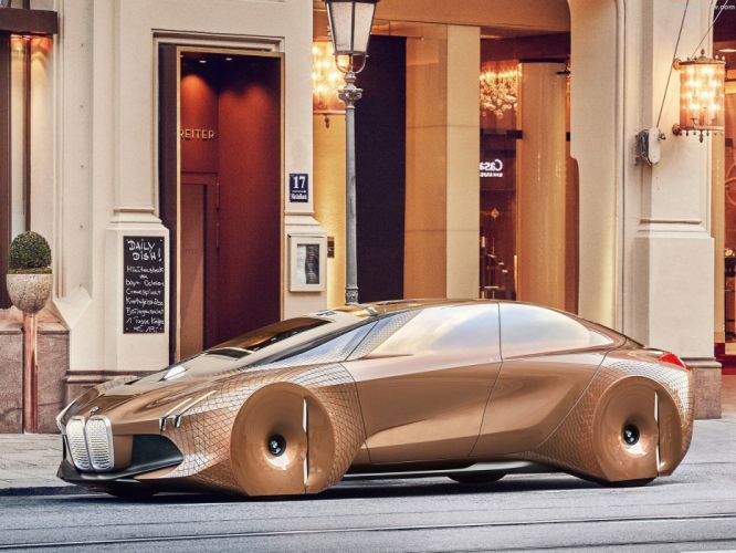 BMW Vision Next 100 Concept cars 2016 wallpaper