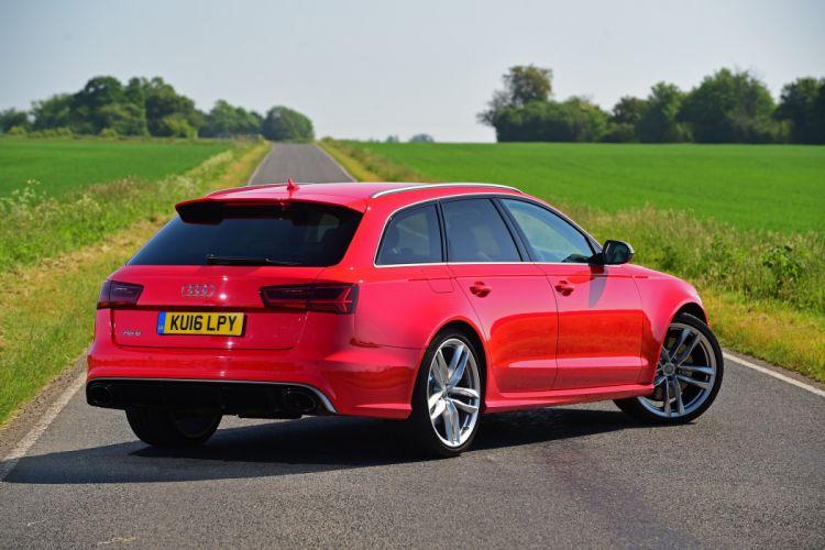 2016 Audi RS6 Avant performance UK-spec stationwagon wallpaper