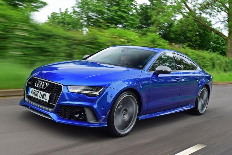 2016 Audi RS7 Sportback performance UK-spec wallpaper