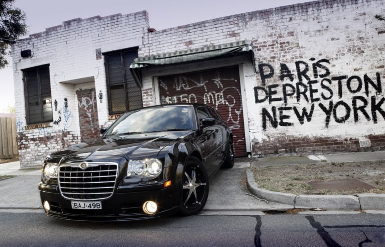 2007 Chrysler 300C SRT8 E490 Touring AU-spec stationwagon tuning wallpaper