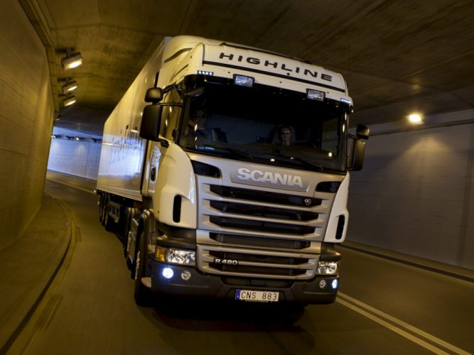 2009 Scania R480 6x2 Highline semi tractor wallpaper