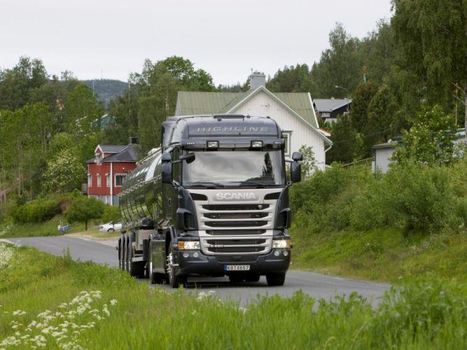 2009-13 Scania R480 4x2 Highline semi tractor wallpaper