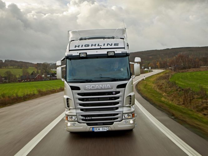 2009-13 Scania R480 4x2 Highline semi tractor wallpaper