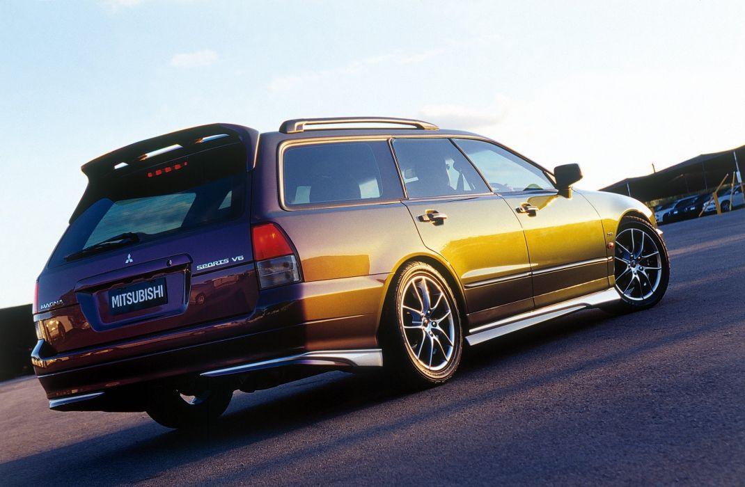 2000 Mitsubishi Magna Sports Wagon Concept stationwagon wallpaper