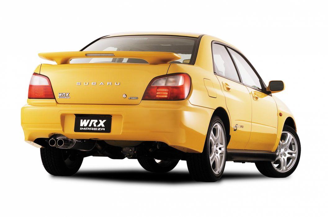 2002 Subaru Impreza Wrx Club Spec Evo 5 Wallpaper