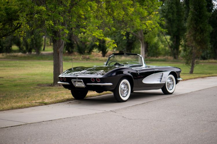 1961 Chevrolet Corvette Fuel Injection 283 315HP muscle supercar classic wallpaper