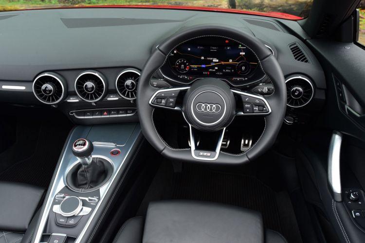2015 Audi TTS Roadster UK-spec wallpaper