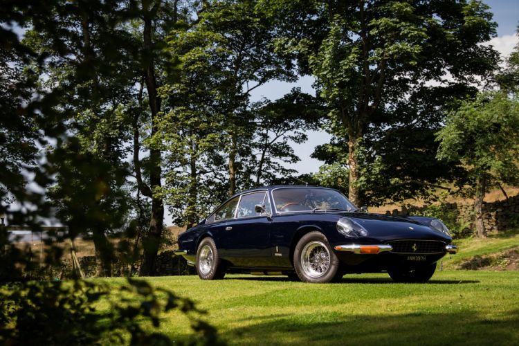1967 Ferrari 365 GT 2-2 UK-spec Pininfarina supercar classic wallpaper