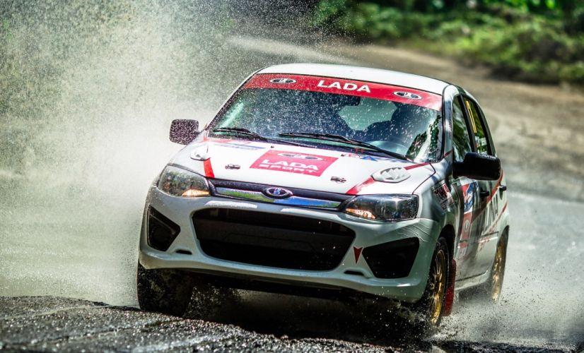 2015 Lada Kalina NFR race racing rally wallpaper