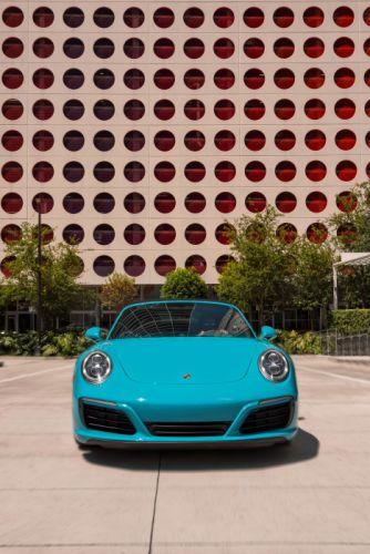 2017 Porsche 911 Carrera S Cabriolet US-spec 991 supercar wallpaper