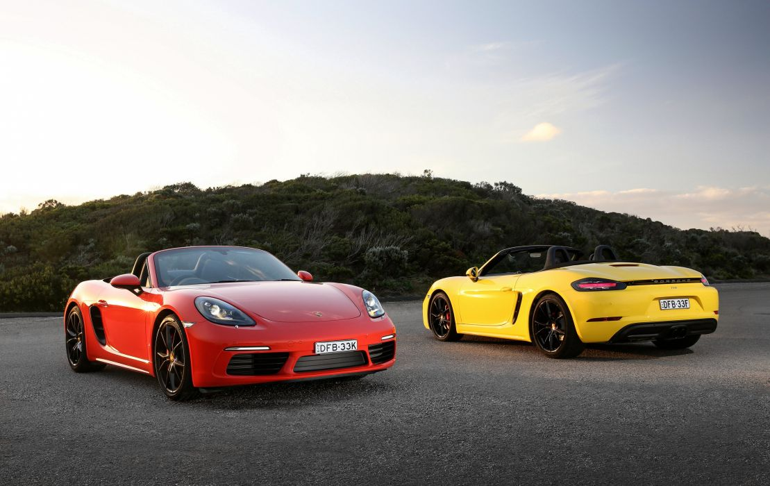 2016 Porsche 718 Boxster S AU-spec 982 wallpaper