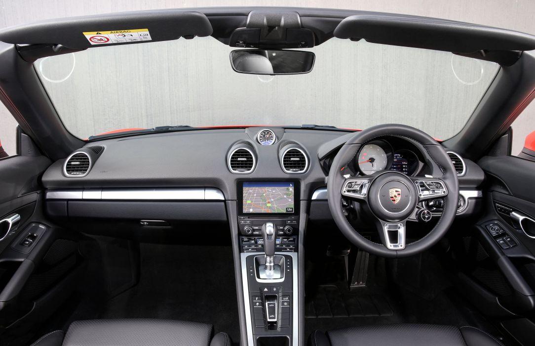 2016 Porsche 718 Boxster S AU-spec 982 wallpaper