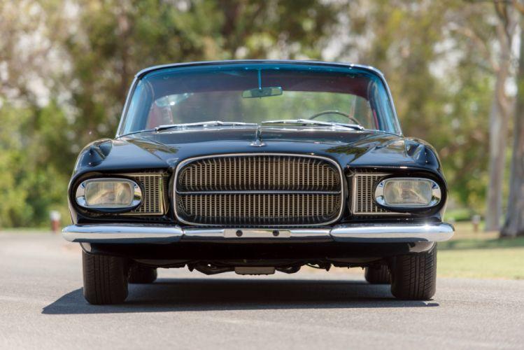1962 Dual Ghia L64 Coupe luxury classic wallpaper