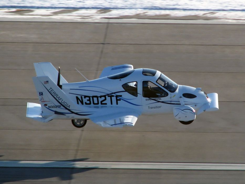 2009 Terrafugia Transition Proof Concept airplane aircraft car wallpaper