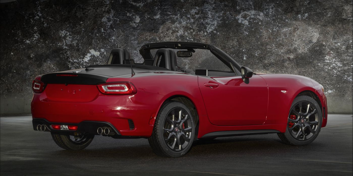 2017 Fiat 124 Spider Abarth US-spec 348 wallpaper