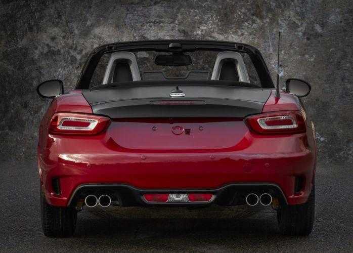 2017 Fiat 124 Spider Abarth US-spec 348 wallpaper