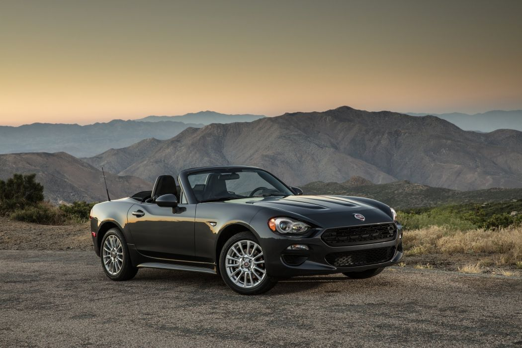 2017 Fiat 124 Spider Classica US-spec 348 wallpaper