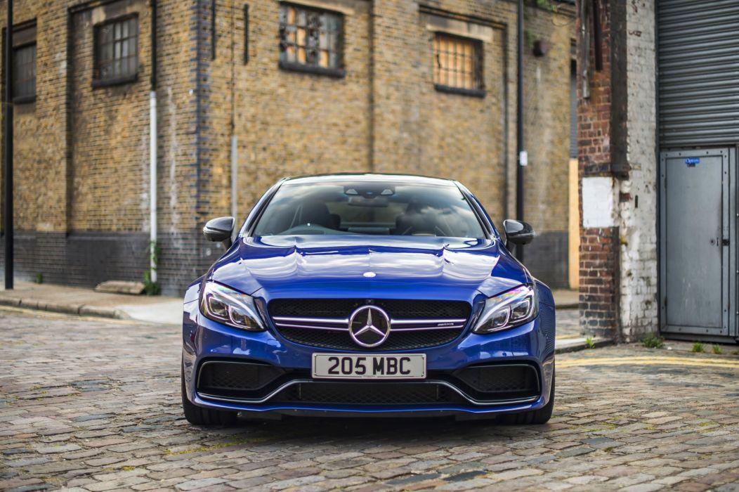 2016 Mercedes AMG C63S Coupe UK-spec C205 benz wallpaper
