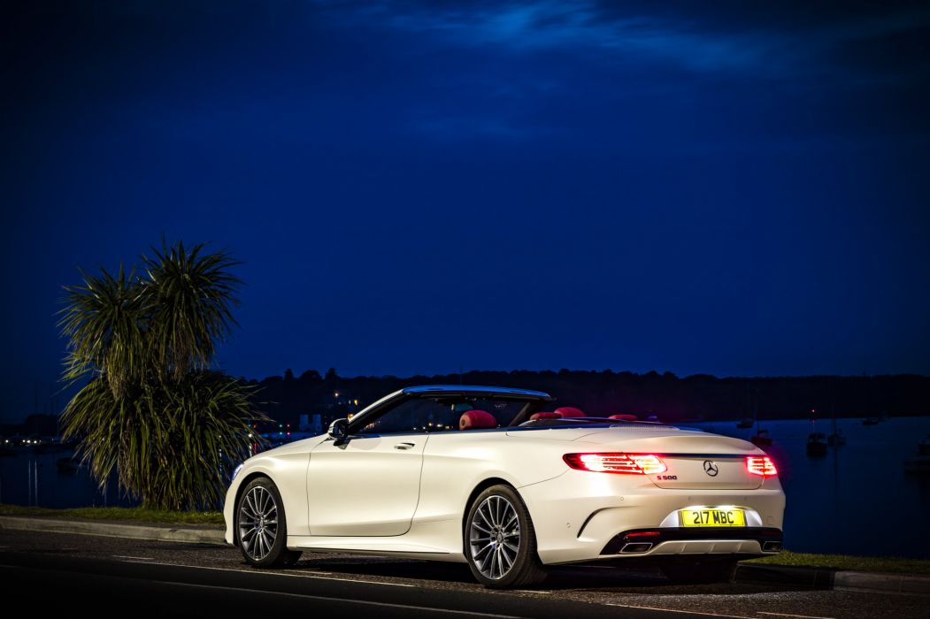2016 Mercedes Benz S 500 Cabriolet AMG UK-spec A217 wallpaper