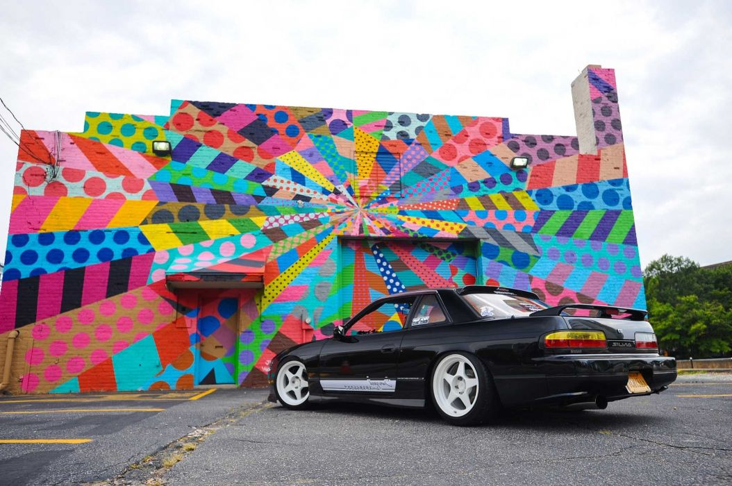 1989 nissan s13 silvia cars black modified wallpaper