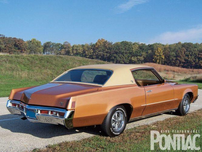 1972 Pontiac Grand Prix cars wallpaper