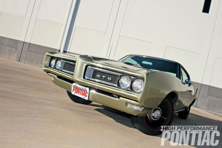 1968 Pontiac GTO cars wallpaper